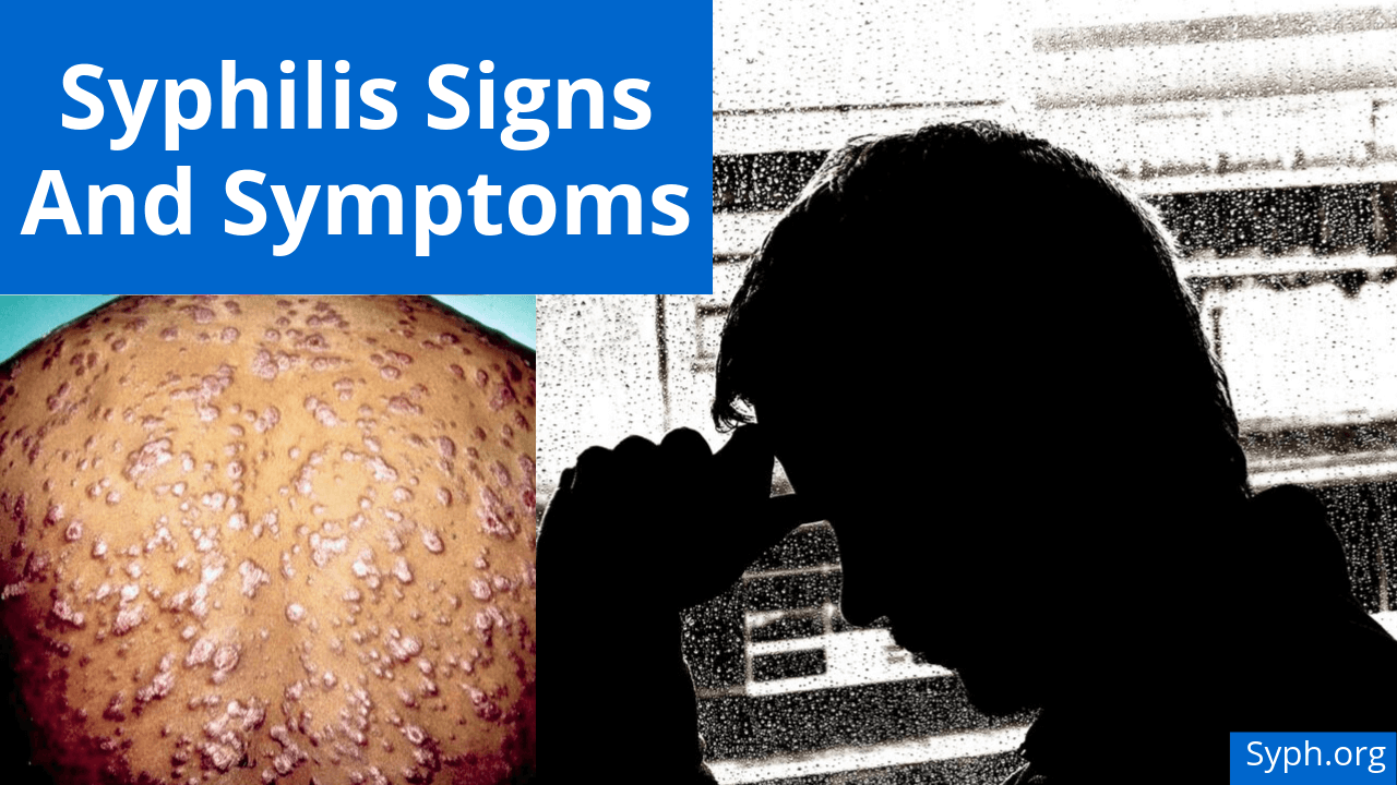 Syphilis Signs And Symptoms